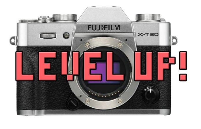 Actualización de firmware para la Fuji X-T30.