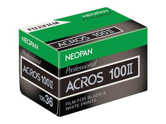 Fujifilm Neopan Acros 100 II.