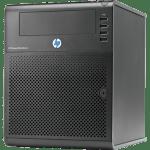 FreeNASのファイルサーバーもHP ProLiant MicroServerに更改
