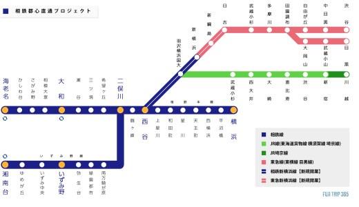 開業迫る!【相鉄線都心直通プロジェクト】期待の相鉄JR直通線&相鉄東急直通線とは
