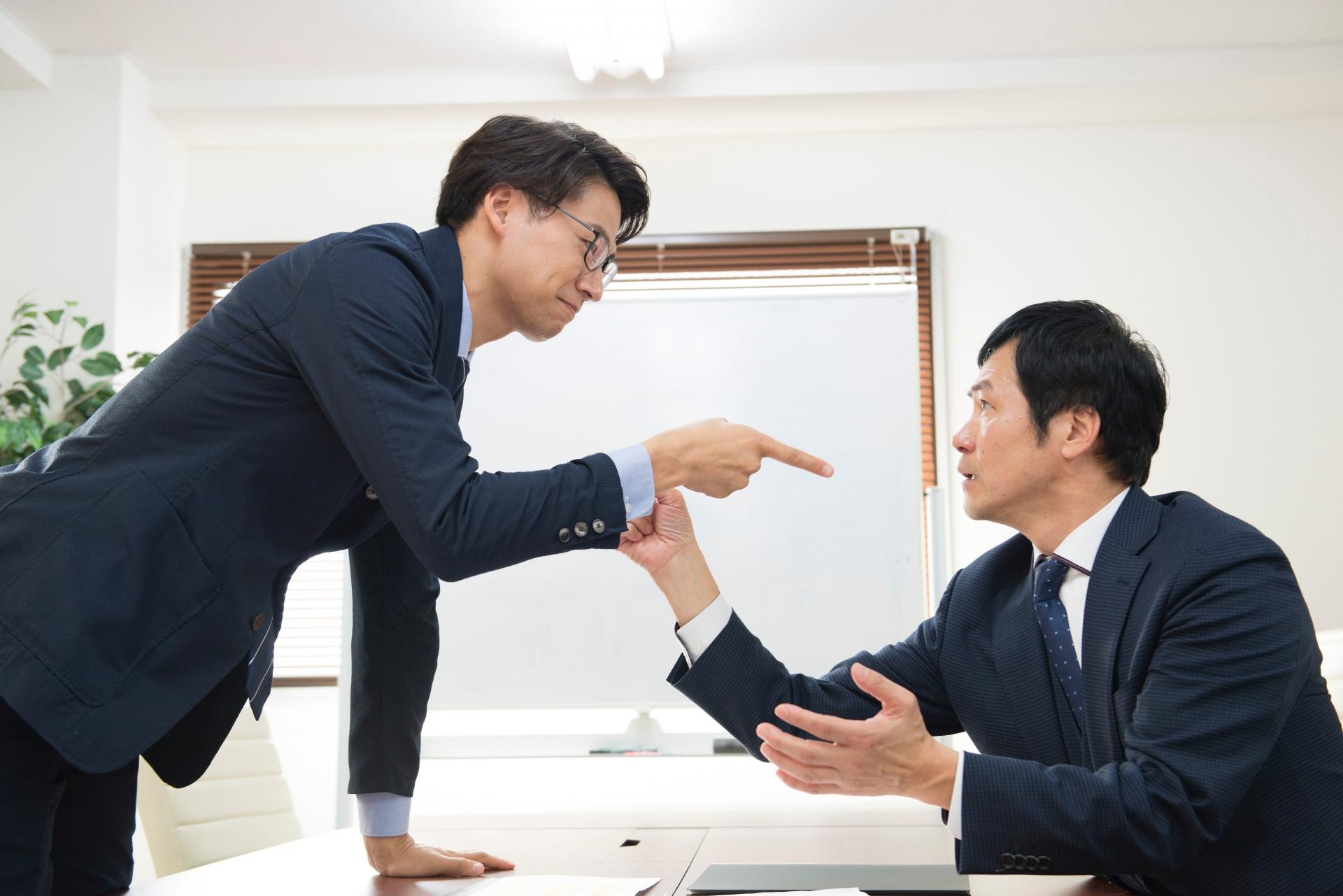 上司との喧嘩【仲直り】は部下から言うもの。大人の階段を上ろう