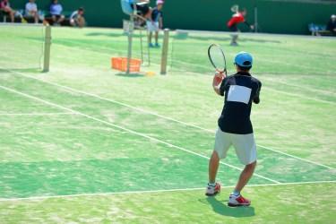 ソフトテニス戦略、前衛として相手にプレッシャーを与える動き方