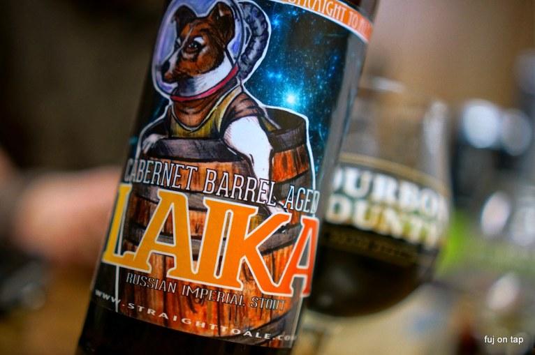 Straight to Ale Cabernet Barrel-Aged Laika Stout