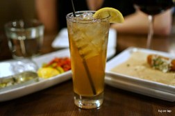 Smoky Sweet Tea at Boca Bistro