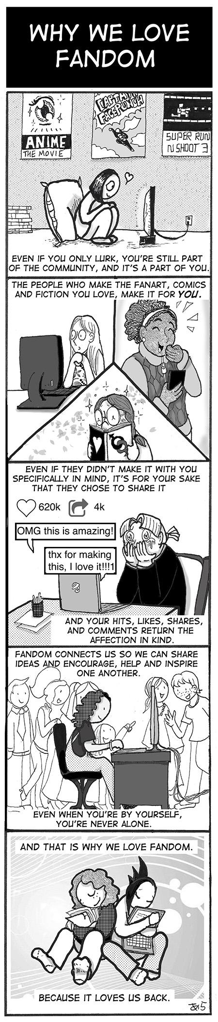 Why We Love Fandom