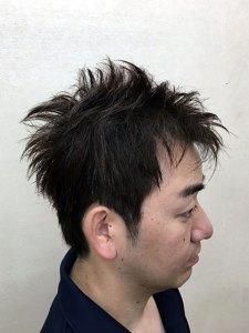柴田黒髪メンズ3image1