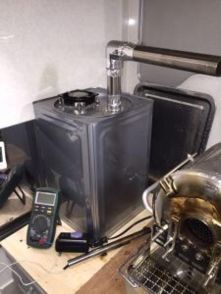 一斗缶 排気装置 1