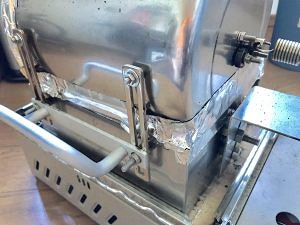 トレンドアイ焙煎機 本体 耐熱テープ