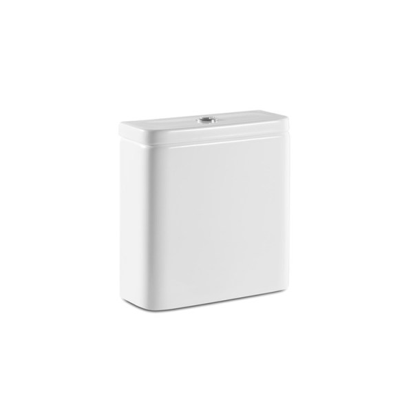 Roca The Gap Dual flush 4.5/3L WC cistern with back inlet