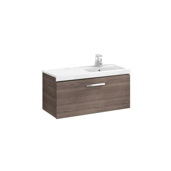 Roca Prisma Unik (base unit with one drawer and right hand basin)
