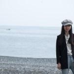 三重・熊野旅行記 2017年1月 いつまで見てても飽きない 熊野灘 海岸散歩