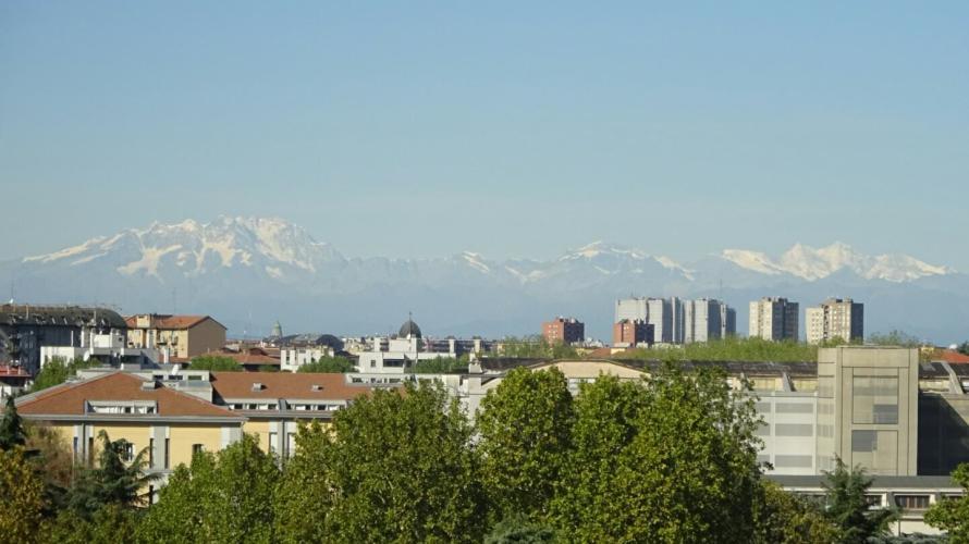 モデル滞在記~ミラノ編~<br />ミラノからアルプスが見えるんです。