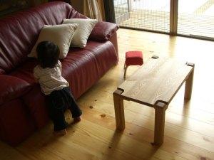 無垢ティーテーブル
