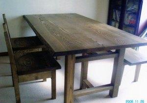 無垢ダイニングテーブルセット