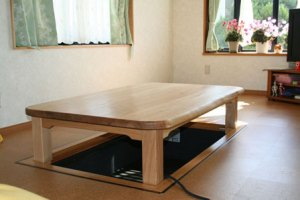 掘り炬燵用の座卓