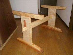 栃の脚(逆T字型タイプ)