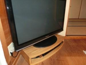 アーチ型の特注テレビ台