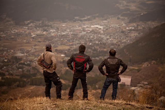 034 Yufuin Mountain view