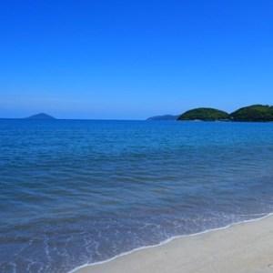深江海水浴場は地引き網体験