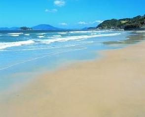 きれいな浜でしか泣かない糸島市姉子の浜鳴き砂