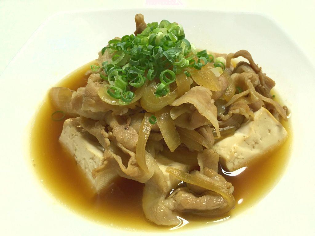 やっぱりこれ!簡単美味しい肉豆腐
