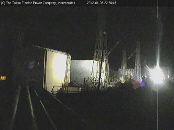 Reactor 4 at Fukushima Daiichi