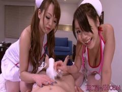 超淫乱爆乳ナースが患者の肉棒を豊満な胸とおまんこで昇天させてるスワッピング動画無料