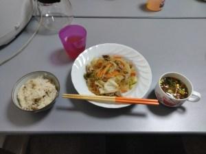 食事の画像 一般社団法人お気楽島/生活介護 お気楽島