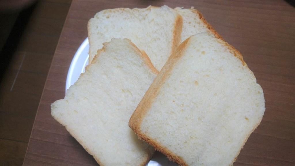 手作りした食パン