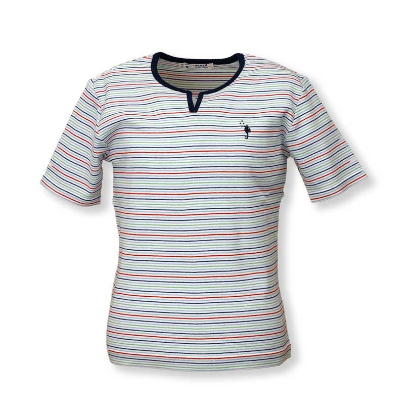 前スリットTシャツ