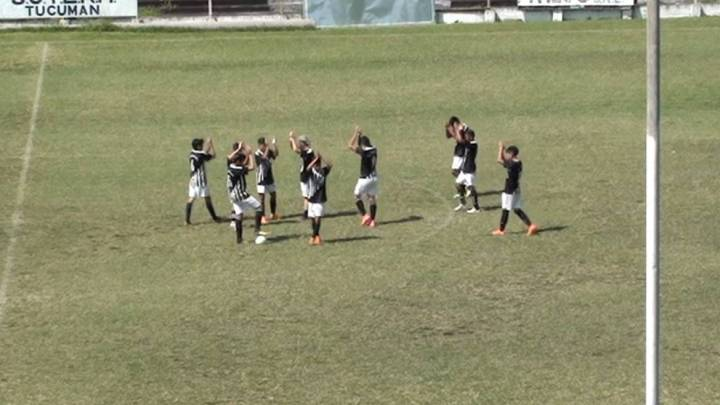 Inferiores: La 2002 de Central Norte superó al Corte FC