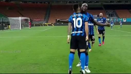 Inter de Milán vs Napoli 2-0 Jornada 37 Serie A 2019-2020
