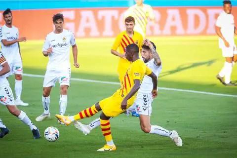 Barcelona vs Nastic 3-1 Amistoso Pretemporada Septiembre 2020
