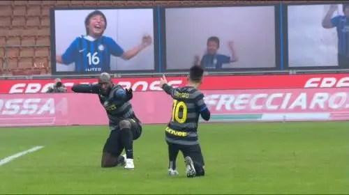 Inter de Milán vs Napoli 1-0 Serie A 2020-2021