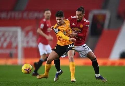 Manchester United vs Wolves 1-0 Premier League 2020-2021