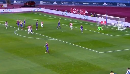 Campeón Barcelona vs Athletic Bilbao 2-3 Supercopa de España 2021