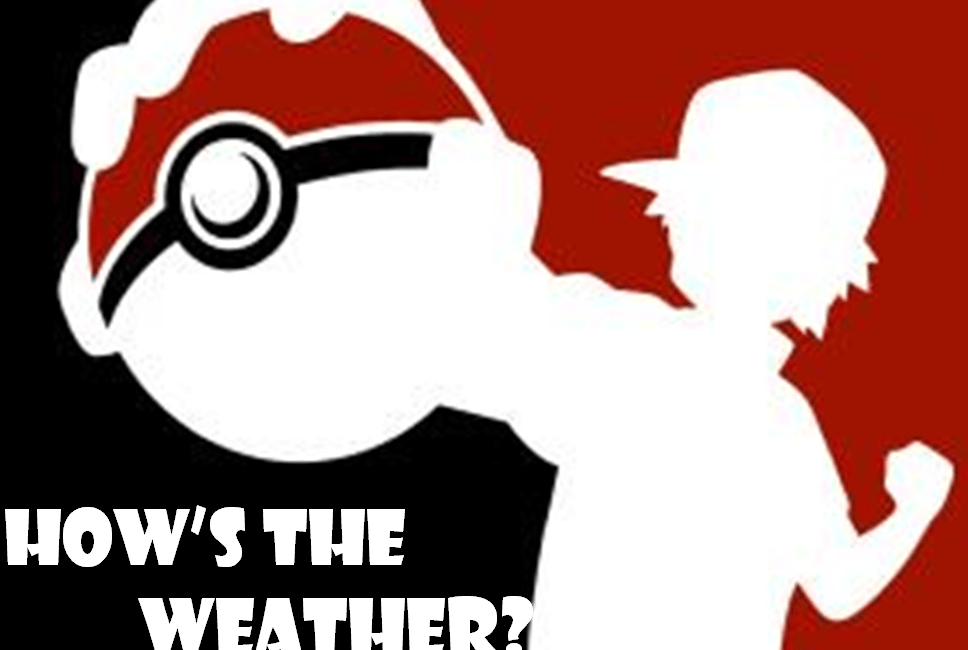 Lesson of the Week: How's the Weather? Pokémon Cards
