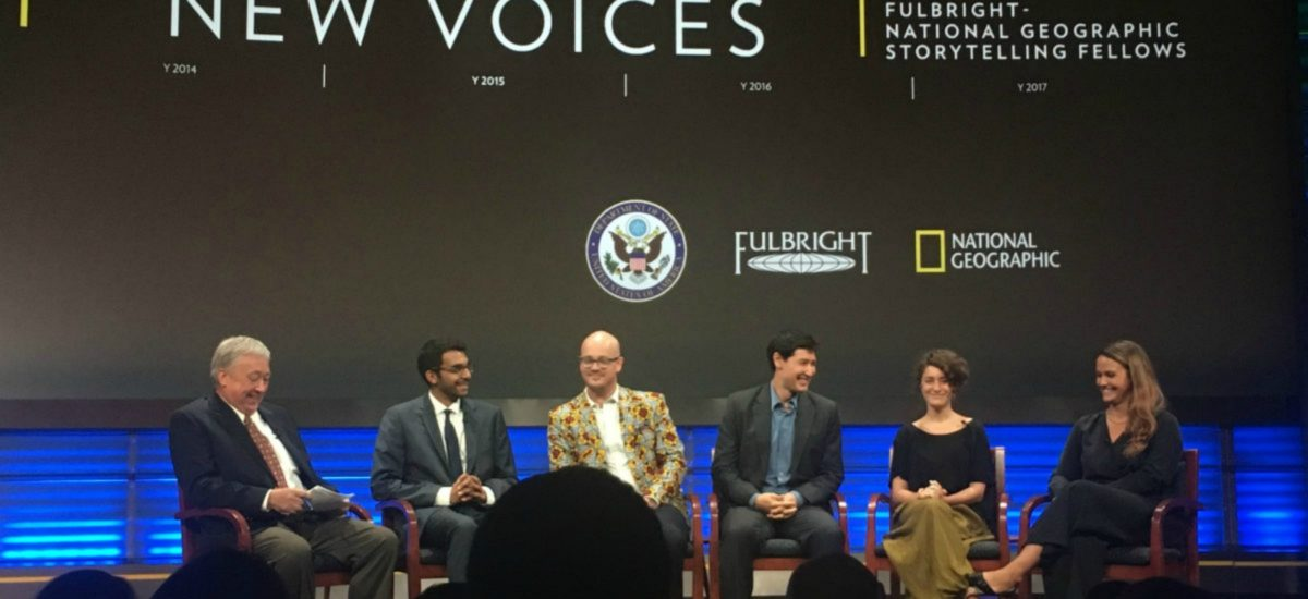 2016-2017 Fulbright-National Geographic Digital Storytellers Share Their Insights