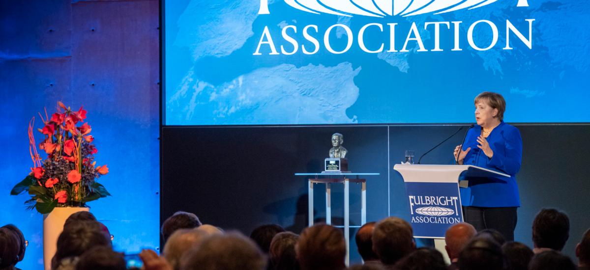 Angela Merkel Awarded Fulbright Prize for International Understanding