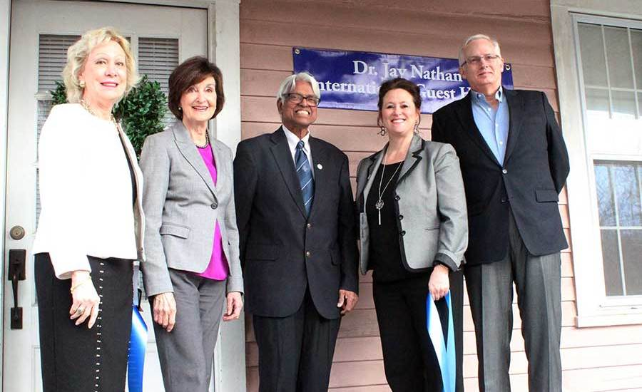 Keystone College honors Fulbright Association Board Member Dr. Jay Nathan