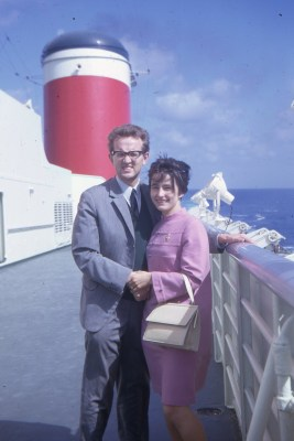 1968, SS United States, Le Havre to New York
