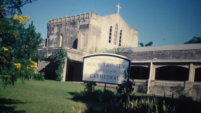 Suva's Anglican Cathedral, 1978