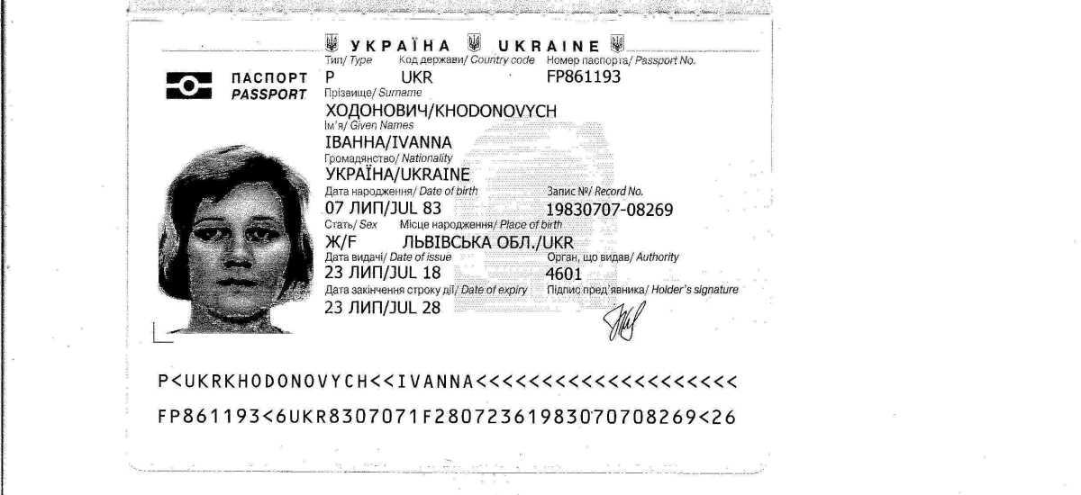Political and Academic Persecution – Ivanna Khodonovych – Ukraine 2006-07