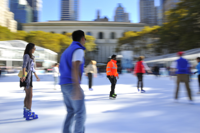 Greater NY Chapter – Bryant Park Ice Skating