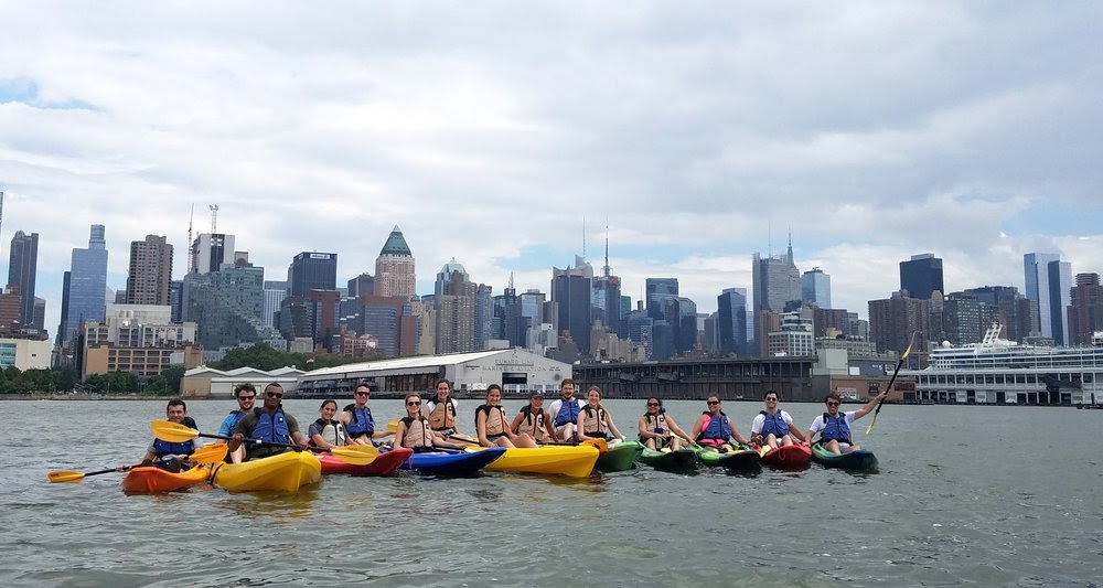 Greater NY Chapter's Kayaking on the Hudson
