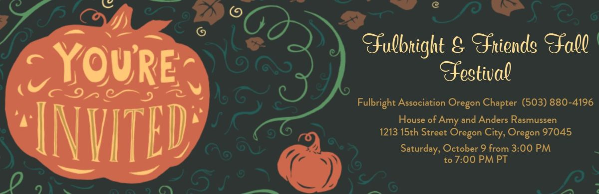 Oregon Chapter's Fulbright and Friends Fall Festival