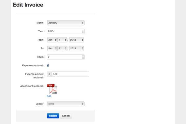 Project Profile: Vendor Invoice Portal