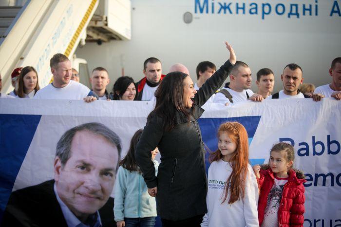 Yael Eckstein welcomes Jewish migrants