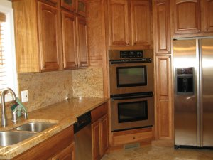 Rental property Falls Church kitchen
