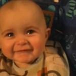 Un bebelus foarte emotiv
